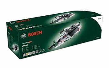 Bosch DIY Fliesenschneider PTC 640, Karton (max. Fliesenstärke: 12 mm, max. Schnittlänge: 640 mm, max. Diagonalschnittlänger: 450 mm) -
