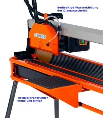Cross Tools 68654 CSC 1100 Steintrenn-/Fliesenschneidmaschine Schnittlänge/-tiefe maximal 950 x 50 mm TÜV/GS -