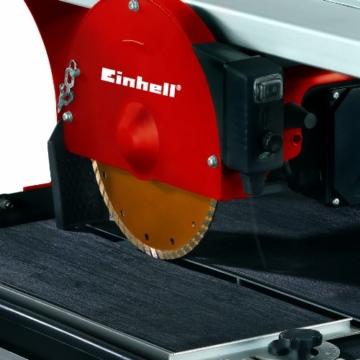Einhell Radial-Fliesenschneidmaschine RT-TC 520 U (800 W, Schnitthöhe 30 mm, Tischgröߟe 570x385 mm, Turbo-Trennscheibe Ø 200 mm, Untergestell) -